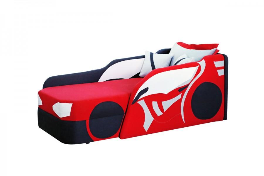 Детская кровать с бортиками Car