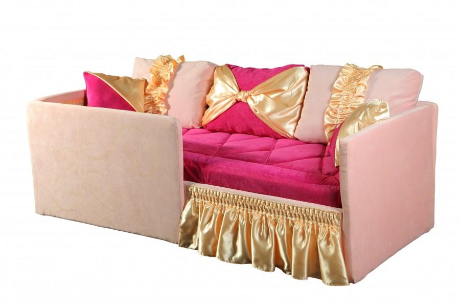 Детский диван с бортиками Луиза