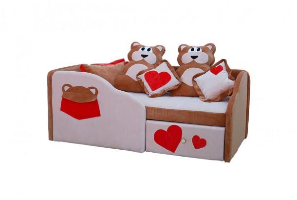 Детский диван с бортиками Гамми