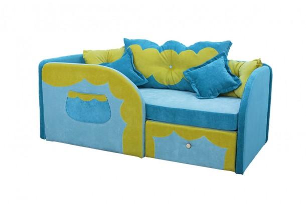 Детский диван с бортиками Сказка
