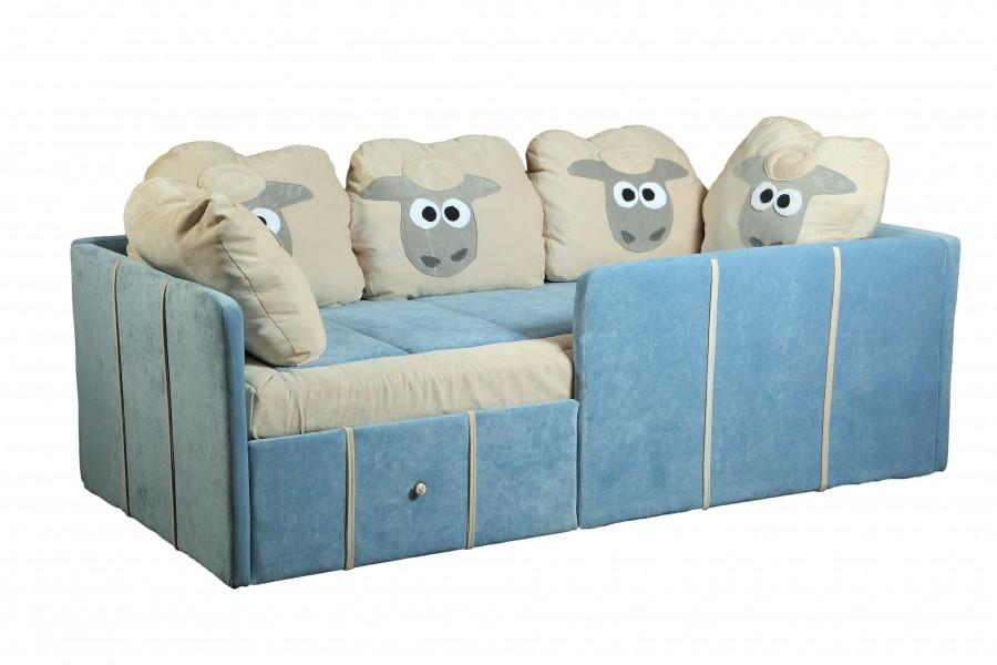 Детский диван с бортиками Оливер