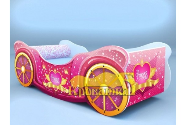 Кроватка карета принцесса
