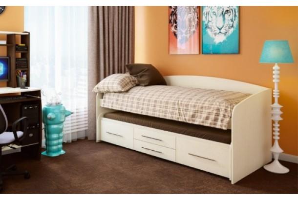 Кровать двухъярусная Адель-5 Дуб линдберг