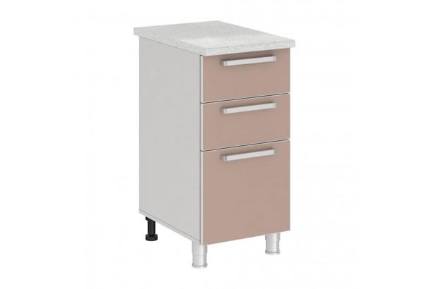 Имбирь 4Р3 Шкаф-стол с 3 ящиками 400 Имбирь
