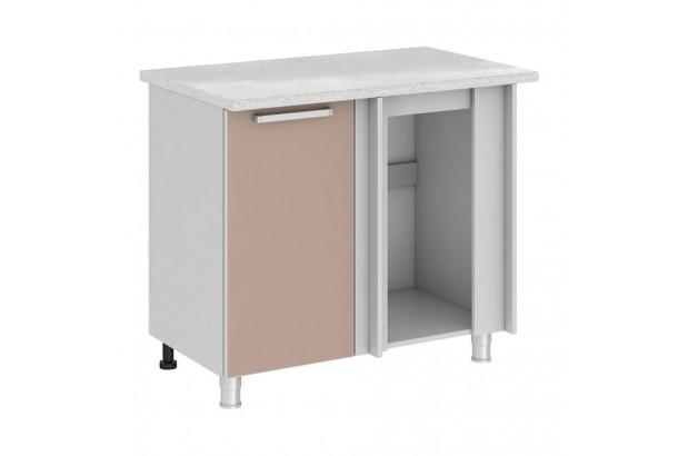 Имбирь 10УР2 Шкаф-стол угловой 1000 Имбирь