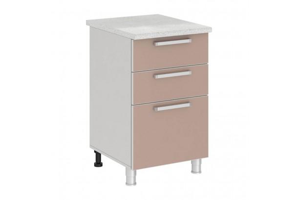 Имбирь 5Р3 Шкаф-стол с 3 ящиками 500 Имбирь