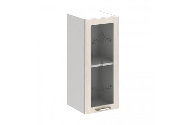 Прованс 3В2 Шкаф настенный 1-дверный со стеклом 300 Дуб Прованс