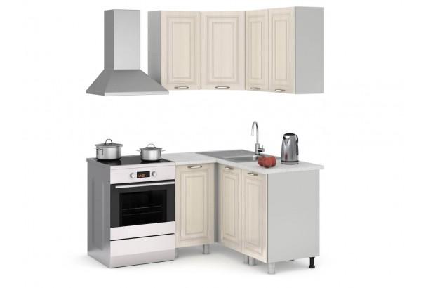 Прованс 100-140 Набор мебели для кухни угловой Дуб Прованс