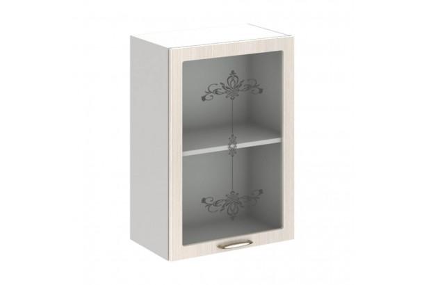 Прованс 5В2 Шкаф настенный 1-дверный со стеклом 500 Дуб Прованс