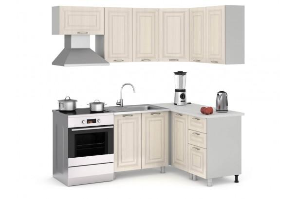 Прованс 200-140 Набор мебели для кухни угловой Дуб Прованс