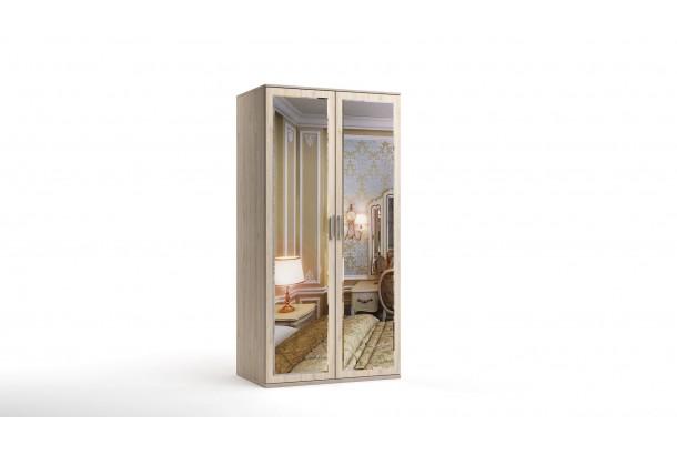 Шкаф распашной 2-х с зеркалами Лорд-6