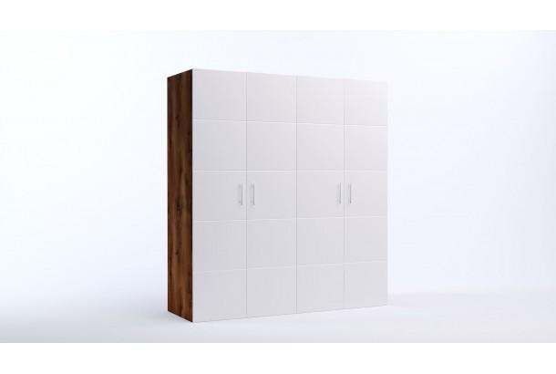 Шкаф распашной 4-х дверный Риччи-15