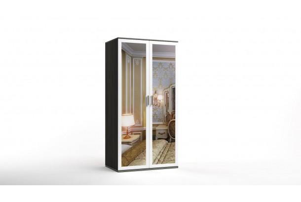 Шкаф распашной 2-х с зеркалами Лорд-15