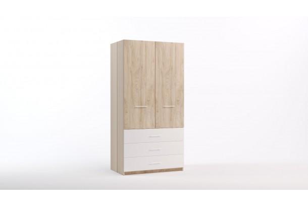 Шкаф распашной 2-х створчатый Лорд-26