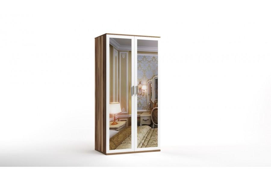 Шкаф распашной 2-х с зеркалами Лорд-12