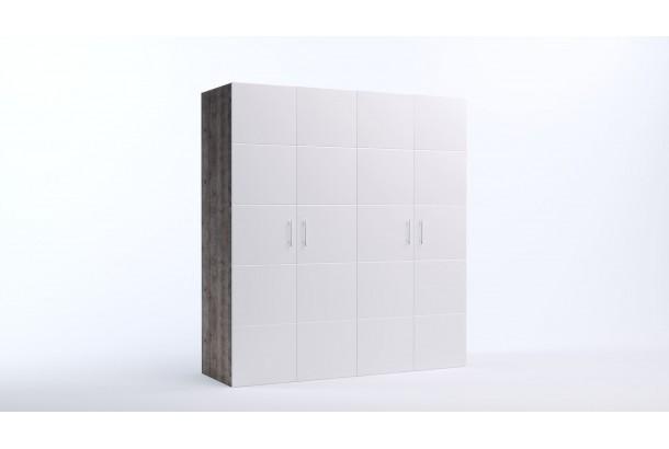 Шкаф распашной 4-х дверный Риччи-8