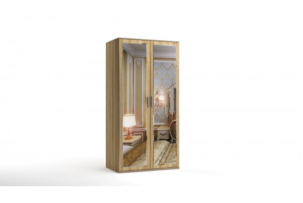 Шкаф распашной 2-х с зеркалами Лорд-8