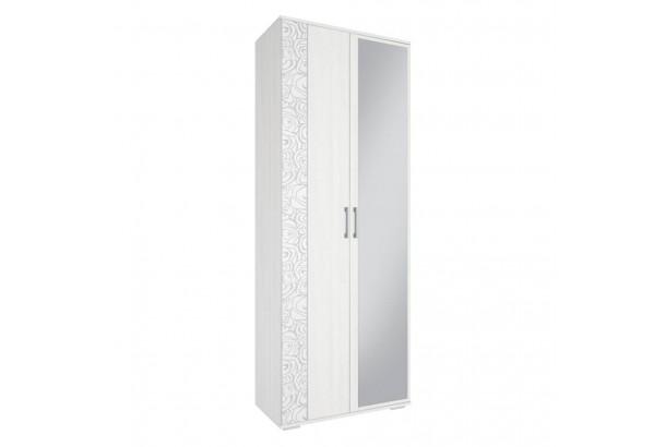 Лагуна Шкаф 800 Ясень Белый
