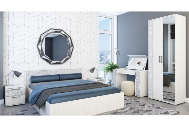 Лагуна №1 Набор мебели для спальни Ясень Белый