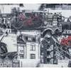 Термопечать Канвас Амстердам (графит)